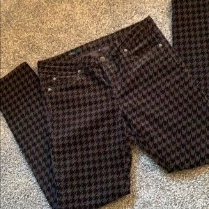 Kut From the Kloth Houndstooth Skinny Cords Sz12
